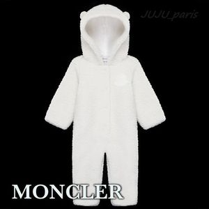Moncler★2020AW★BABY★テディベア耳付ロンパース ★1~24M