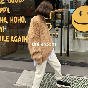 uni's room■2color ミンクカシミアテディニット NT-AW20-40