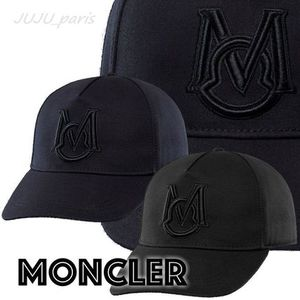 Moncler★2021SS★マキシMロゴ入キャップ★関税送料込