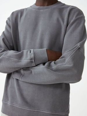 """COS MEN"" WASHED SWEATSHIRT GRAY"