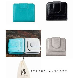 ■STATUS ANXIETY■IVYコンパクト財布3色☆送料無料