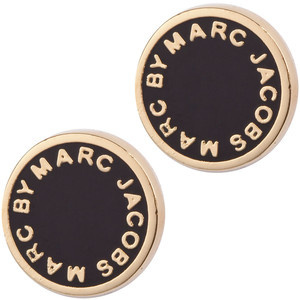 【即発送】Marc by Marc Jacobs Logo Disk Studs ロゴ ピアス