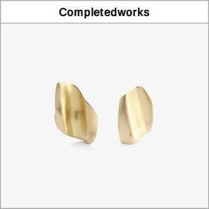 【Completedworks】18Kゴールドヴェルメイユピアス '関税込み'