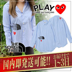 【COMME des GARCONS】 THE NORTH FACE LADY'S コラボシャツ