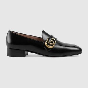 Gucci ♠Double G leather loafers