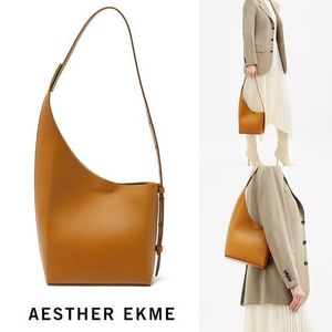 AESTHER EKME Demi Lune レザーバッグ