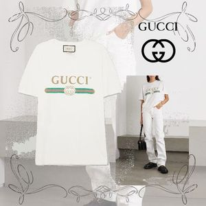 NEW!★GUCCI★グッチAppliqued distressed printed
