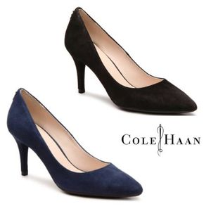 Sale★【Cole Haan】パンプス★ Prieta Suede Pump