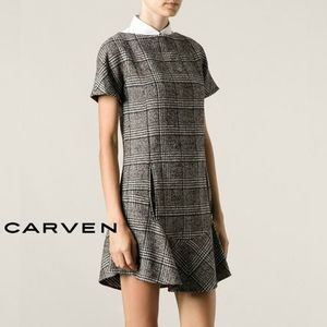 14AW ∞∞CARVEN∞∞ グレンチェックワンピース☆