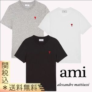 【AMI PARIS】 HEART T-SHIRT