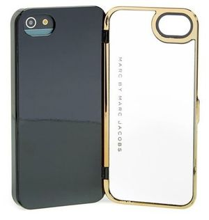 レア!Marc by Marc Jacobs IPhone5.5S ミラー ゴールド☆