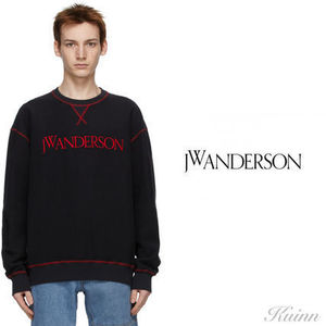 JW ANDERSON Inside Out Contrast Sweat-shirt