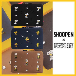 ◆SHOOPENxSNOOPY◆スヌーピーPCポーチ NOTEBOOK POUCH (全3色)