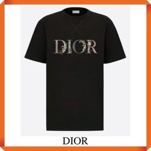 DIOR OVERSIZED DIOR FLOWERS T-SHIRT