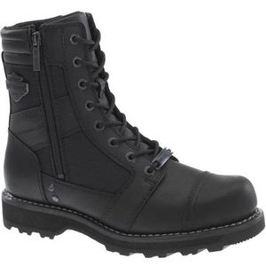 Harley-Davidson Boxbury 7-Inch Blacked-Out Motorcycle Boots