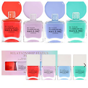 NAILS INC. Relationship Status Proud Nail Polish Set