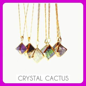 ☆CrystalCactus☆FLOURITE CANDY DROP NECKLACES☆日本未入荷
