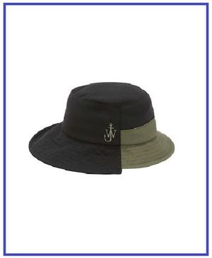 [JW ANDERSON] RECYCLED TECH BUCKET HAT (送料関税込み)
