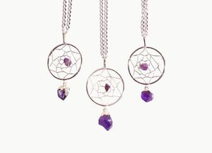 人気急上昇☆CrystalCactus AMETHYST NECKLACE☆日本未入荷