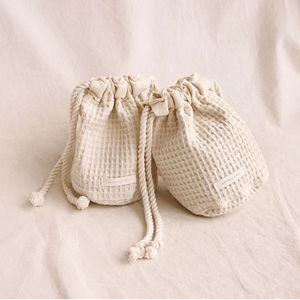 KPOP したブランド [COMMON-UNIQUE] another mood bucket pouch