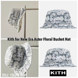 ★2021SS★Kith for New Era Aster Floral Bucket Hat