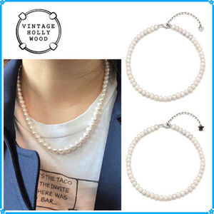 【VINTAGE HOLLYWOOD】Natural Pearl Necklace~パールネックレス