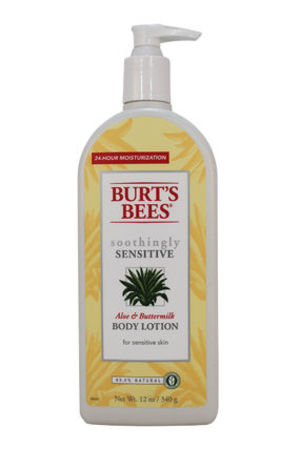Burt's Bees Body Lotion-Aloe & Buttermilk-12 oz