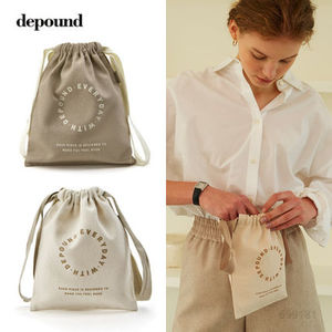 depound 21S/S single pouch /人気 巾着ポーチ [追跡送料込]