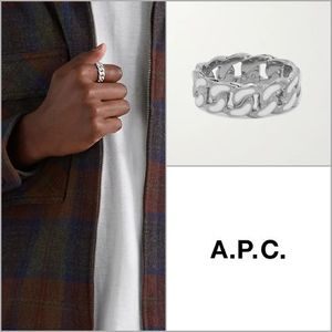 【A.P.C】Samy カーブチェーンリング '関税込み'