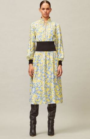 Tory Burch RIB-WAIST DRESS