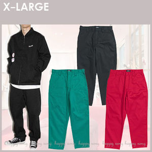 XLARGE★PATCHED WORK PANTS ロゴパッチ ワーク パンツ