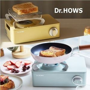 【Dr.HOWS】【大人気】パステル ミニ カセットコンロ 2color