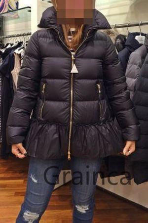 MONCLER★15/16AW VERY7月号掲載モデルANET★ブラック1