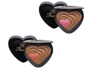 Too Faced☆Soul Mates☆ハート型チーク&ブロンザーコンパクト