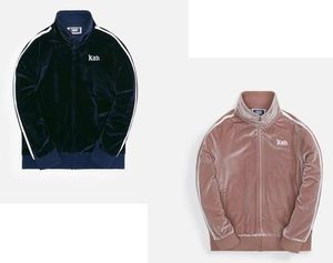 ☆Kith キス キッズ Velour Track ジャケット 国内発送 正規品