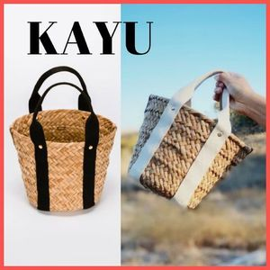 【Ron Herman取扱】KAYU★ ミニかご ストローバッグ