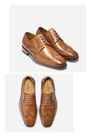 最終セール品 送料込み Cole Haan Air Giraldo Wingtip