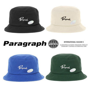 Paragraph★21SS★Lettering Embroidery Bucket Hat (No.44)