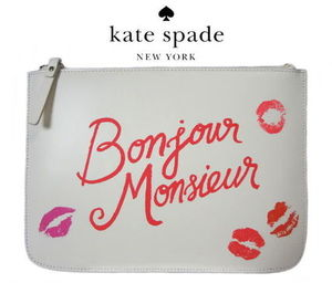 【即発】kate spade gia WLRU21136 merrion square ポーチ