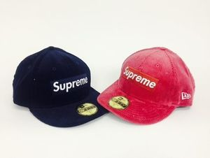 15FW 即発 追尾/関税込み☆Supreme New era corduroy box logo