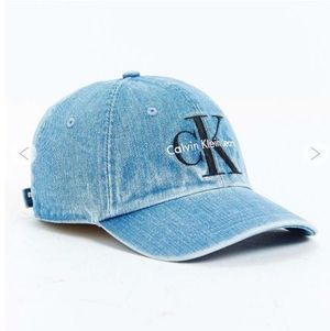 今年MUST MY CALVIN KLEIN  LOGO DENIM CAP 限定商品 送料込