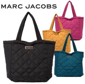 Marc Jacobs ナイロン製ロゴプレート付マザーズバッグ 男女兼用