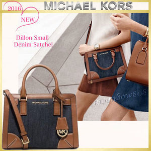 【新作☆日本未入荷】MICHAEL KORS Dillon Small デニム Satchel