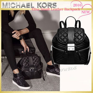 【新作 日本未入荷】MICHAEL Kors Elisa Small Leather Backpack