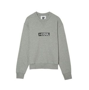 [NOHANT][EMS安心発送][UNISEX] LOVE CITY SEOUL SWEATSHIRT