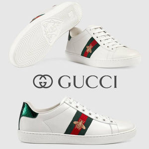 GUCCI エンブロイダリー付き スニーカー ACE BEE SNEAKERS