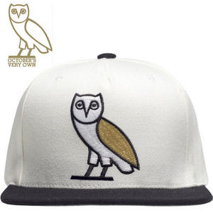 ★日本未上陸★DRAKE OCTOBER'S VERY OWN★WHITE OWL キャップ★
