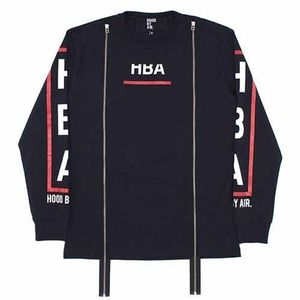 Hood By Air Purgatory LS Double Zip shirt