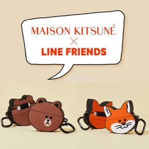 【MAISON KITSUNE×LINE FRIENDS】AirPods&AirPods Proケース
