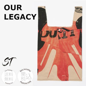 OUR LEGACY GROCERY BAG BIKER PRINT カジュアル 関税込み